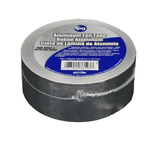 Intertape Polymer Group 99605 Aluminum Foil Tape 2-Inch x 50-Yard