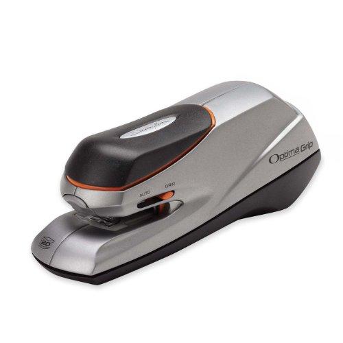 Swingline Electric Stapler Optima Grip Dual Power 20 Sheets Capacity Silver S7048207