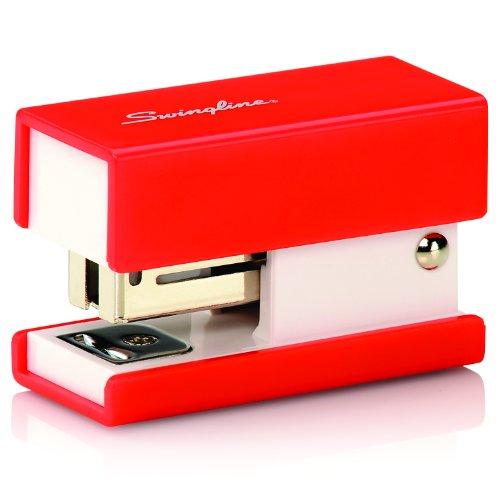 Swingline Mini Fashion Stapler 12 Sheets Red S7087873