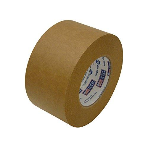 Intertape 530BRN360 530 Utility-Grade Flat Back Packaging Tape 3 x 60 yd Brown