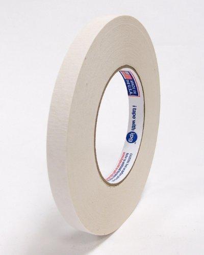 Intertape 591 12 X 36YD Premium Double-Coated Flatback Tape Beige Color- 72 rollscase