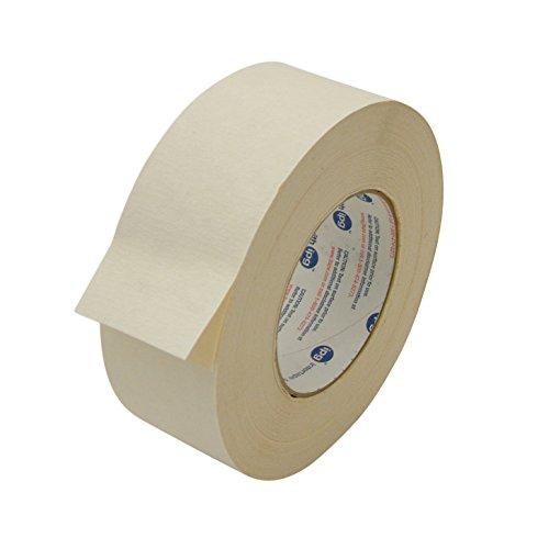 Intertape 591BEIG236 591 Double Sided Flat Back Paper Tape 2 x 36 yd Beige