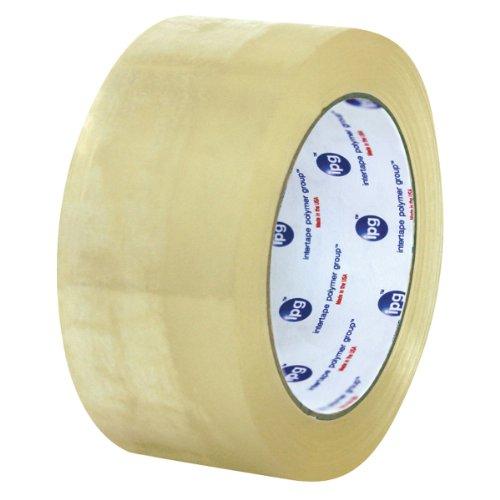 Intertape Polymer Group F4225 1100 Corru-Grip Premium Hot Melt Carton Sealing Tape 30 mil Thick 55M Length x 72mm Width Clear Case of 24 Rolls