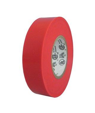 Colored Electrical Tape 34 in 62018-B 3419mm  x 66 - 10 Rolls Per Case Red