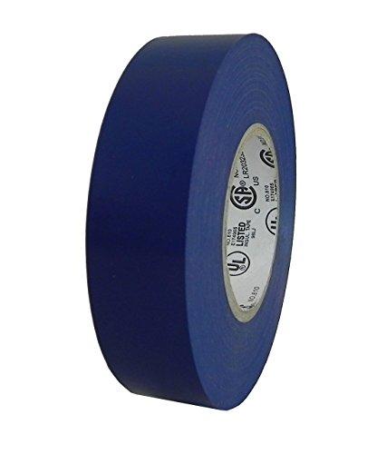 Colored Electrical Tape 34 in 62018-B 3419mm x 66 - 100 Rolls Per Case Blue