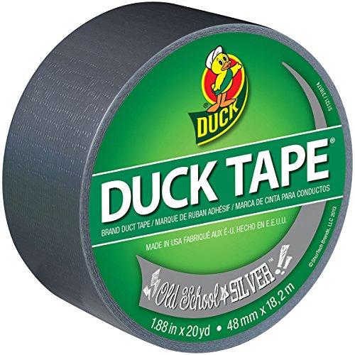 Shurtech Brands LLC 281932 Printed Duck Tape 188X 20 yd Silver