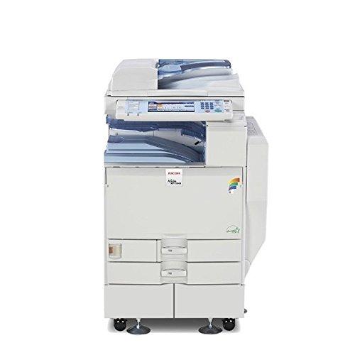 Ricoh Aficio C2551 Tabloid-Size Color Laser Multifunction Copier - 25ppm Copy Print Scan Network Duplex 2 Trays Stand
