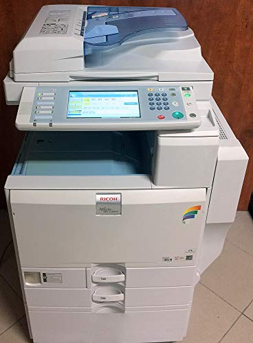 Ricoh Aficio MP C3300 Tabloid-Size Color Laser Multifunction Copier - 33 ppm Copy Print Scan 2 Trays Stand
