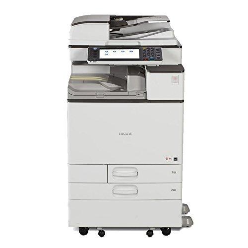 Ricoh Aficio MP C4503 Color Laser Multifunction Copier - A3A4 45 ppm Copy Print Scan Network Auto Duplex 2 Trays Stand
