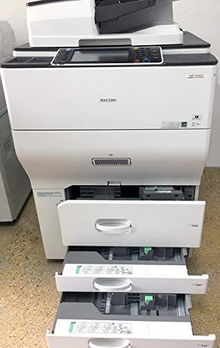 Ricoh Aficio MP C6502 Color Multifunction Copier - A3 65ppm Copy Print Scan Duplex ADF 2 Trays and Tandem Tray
