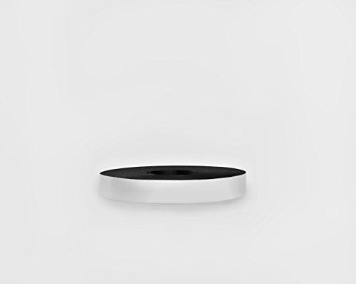 30 Mil Dry Erase Magnetic Strip Roll - White - 1 X 100