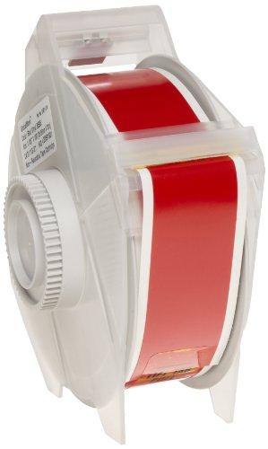 Brady 113121 GlobalMark 100 Length x 1125 Width B-595 Vinyl Red IndoorOutdoor Tape