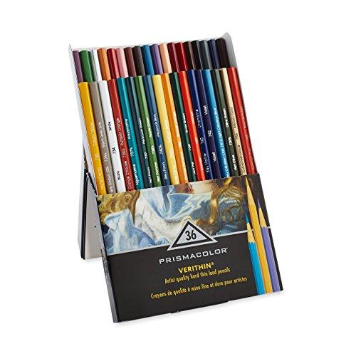 Prismacolor Premier Verithin Colored Pencils Assorted Colors 36 Pencils Pack of 1 Box 2428