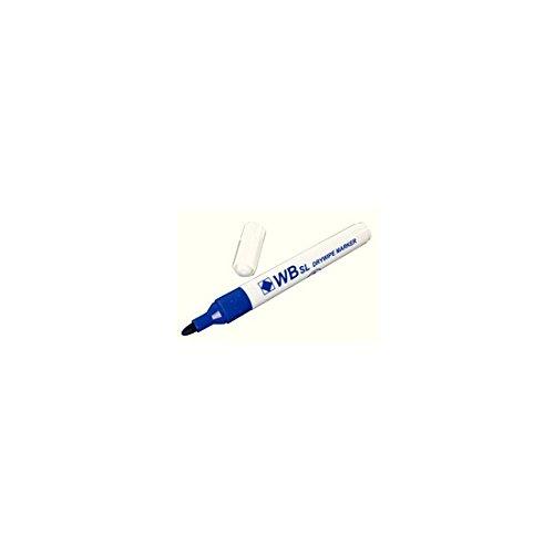 WB DRYWIPE MARKER BULLET BLUE