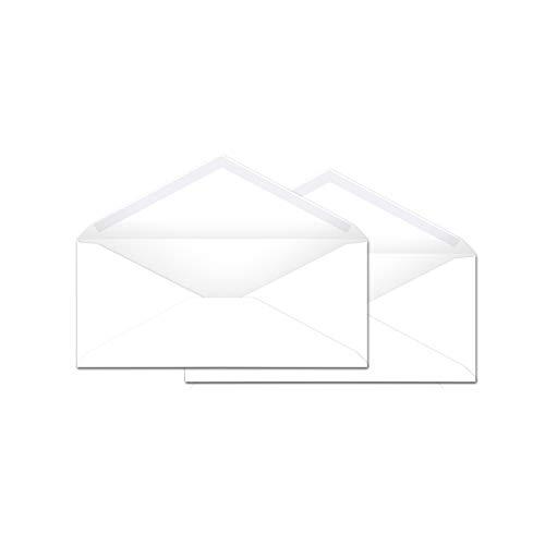 AmazonBasics 10 Business Envelopes with Gummed Seal White 500-Pack - AMZP4