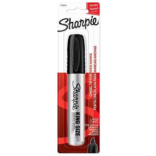 Sharpie Pro King Size Permanent Marker Chisel Tip Black 1799261