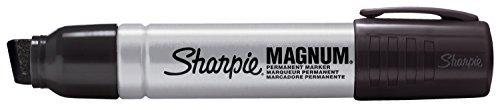 2 Pack Sharpie 44101 Sharpie Magnum Permanent Marker Black