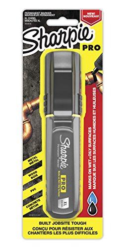 Sharpie Pro Permanent Marker XL Chisel Tip Black Marker 2018347