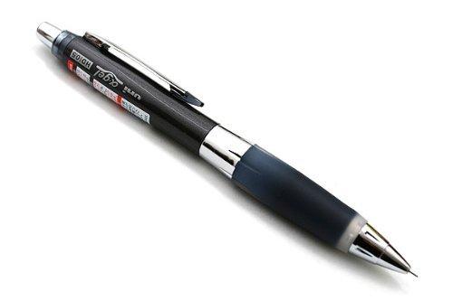 1pc Uni Alpha-gel Shaker Mechanical Pencil - Black - Slightly Firm Grip 05mm