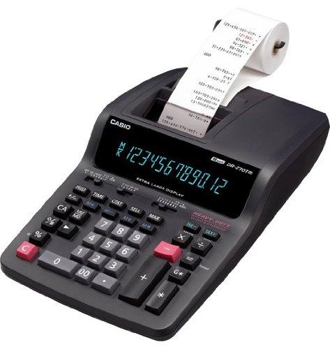 Casio DR-270TM 2-Color Professional Desktop Printing Calculator
