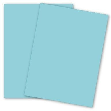 Earthchoice Blue 11-x-17 Lightweight Multi-use Paper 500-pk - 089 GSM 2460lb Text PaperPapers Ledger Size Econo Everyday Paper - Professionals Designers Crafters and DIY Projects