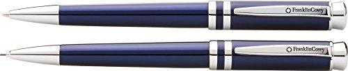 Franklin Covey Freemont Translucent Royal Blue Ballpoint Pen 09mm Pencil FC0031IM-4