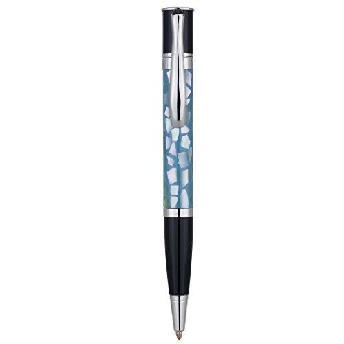 Monteverde Mini Jewelria Shell Light Blue Ballpoint Pen MV59231