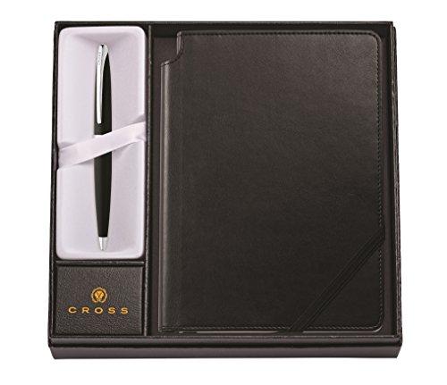 Cross ATX Basalt Black Ballpoint Pen Classic Black Medium Journal