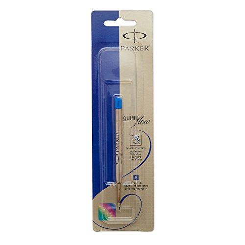 PARKER QUINKflow  Ballpoint Pen Ink Refill Medium Tip Blue 1 Count