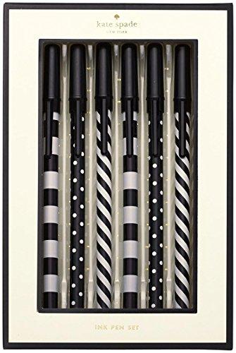 kate spade new york Black Ink Pen Set