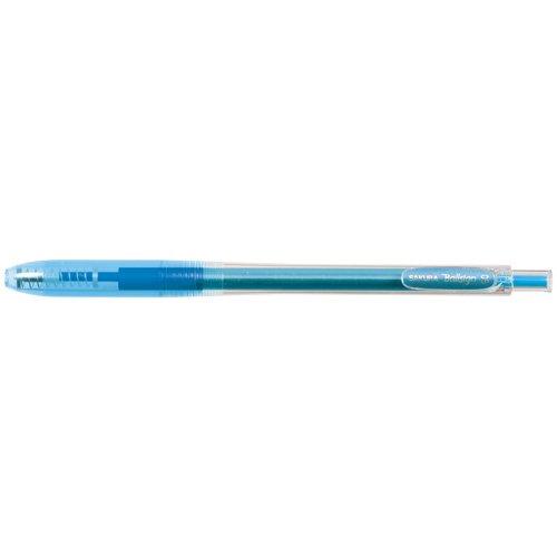 Sakura Knock Gel Ink Ballpoint Pen Ball Sign Knock 05 Aqua Blue GBR155125