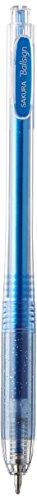 Sakura Knock Gel Ink Ballpoint Pen Ball Sign Knock Glitter Blue GBR158736