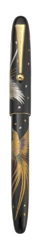 PILOT Namiki Nippon Art Collection Fountain Pen Golden Pheasant Design Barrel Medium Nib 60507