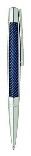 ST Dupont Défi Vibration Ballpoint pen Composite Palladium Blue 405723
