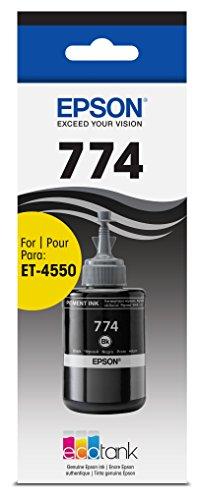 Epson T774120 EcoTank Pigment Black Ink Bottle