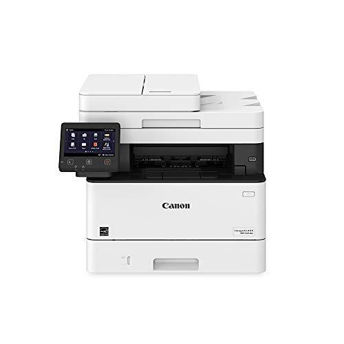 Canon Imageclass MF445dw - All In One Wireless Mobile Ready Duplex Laser Printer with 3 Year Warranty White Amazon Dash Replenishment Ready