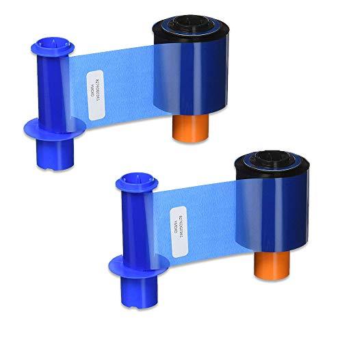 Fargo 45200 YMCKO Color Ribbon for DTC4500 DTC4500e Printers 500 Prints - 2 Pack