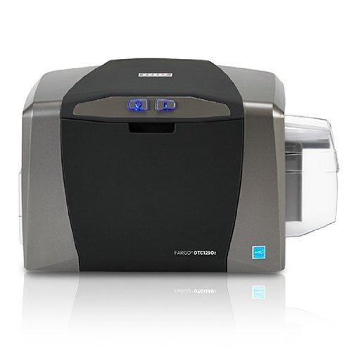 Fargo DTC1250e Single Sided ID Card Printer  Ethernet Connectivity 50020