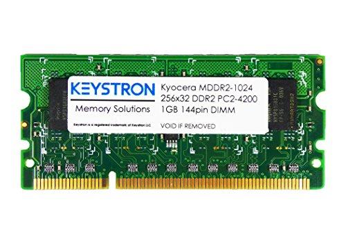 1GB Kyocera DDR2-400 144-pin SDRAM SODIMM Printer Memory pn MDDR2-1024